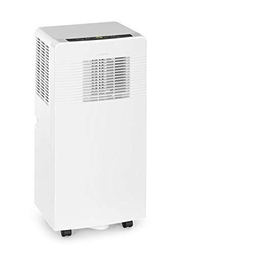 Klarstein Iceblock Ecosmart -Portable air conditioner3-in-1Cooling/Dehumidification/VentilationEnergy Efficiency Class AControl via AppRoom SizeRollers- Ivory, 2050W