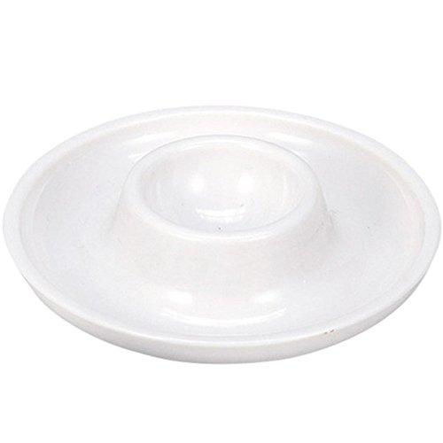 Westmark 20622270 Punto, 3 hueveras, redondas, apilables, diámetro de 10 cm, plástico de alta calidad, color blanco
