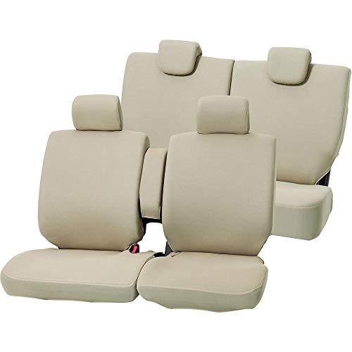 ボンフォーム シートカバー カラードカバー 軽自動車 ワゴンフリー ケイベンチフルセット ベージュ 4055-62BE