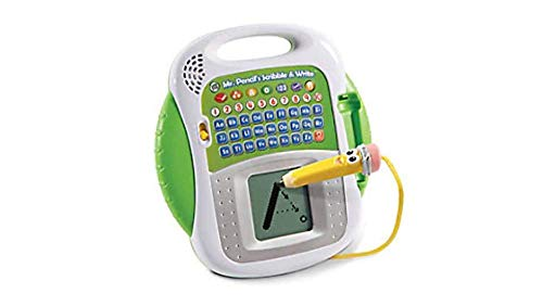 LeapFrog 600803 Mr Pencil's Scribble and Write Interactive Learning Toy Educational Baby Letters, Numbers and Shapes for Toddlers and Kids, Boys and Girls 3, 4, 5+ Year Olds