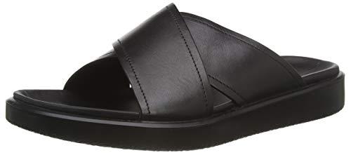 ECCO FLOWTLXM, Zapatillas de Estar por casa Hombre, Negro (Black 1001), 43 EU