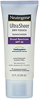 Neutrogena Ultra Sheer Dry Touch SPF Sunscreen, 88 ml