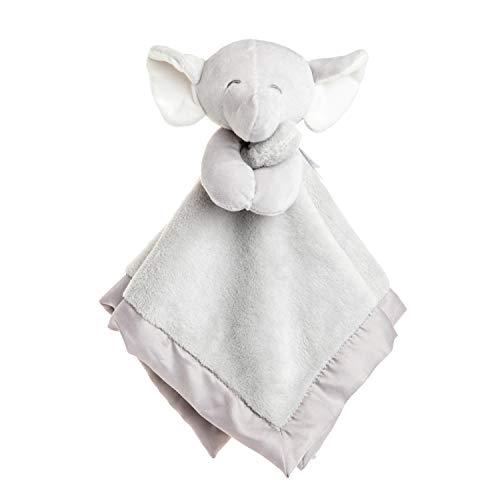 KIDS PREFERRED Carter's Elephant Plush Stuffed Animal Snuggler Blanket - Gray