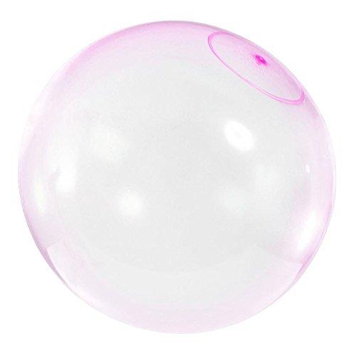 Walmeck- Bubble Balloon Inflatable Funny Toy Ball Increíble a Prueba de lágrimas Super Good Gift Bolas inflables para Jugar al Aire Libre Color Aleatorio (Tamaño S, 12 Pulgadas)