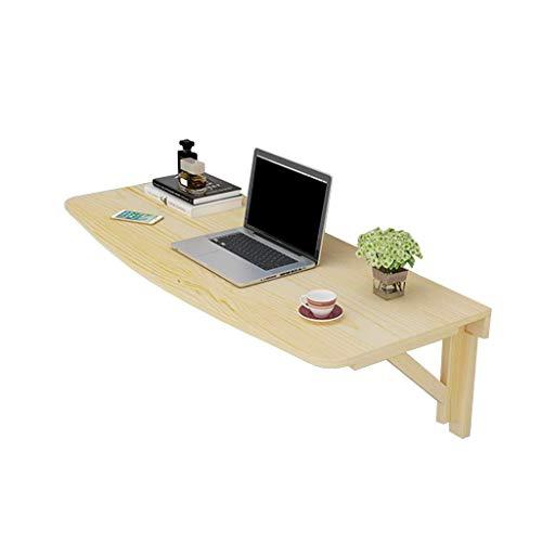 Mesa plegable Mesa plegable montado en la pared de alas abatibles mesa, cocina y comedor mesa de escritorio de oficina Equipo estación de trabajo de mesa (Tamaño, 80 × 40 cm), 100 × 40 cm (tamaño: 100