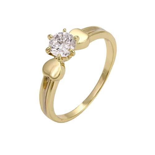 Anillos De Compromiso Oro Blanco Y Diamantes Precios marca CRISTAL AMOR