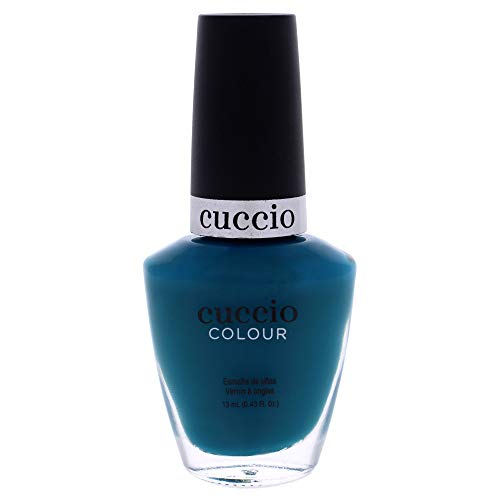 Cuccio Colour Nail Polish - Muscle Beach - Nail Lacquer for Manicures & Pedicures, Full Coverage - Quick Drying, Long Lasting, High Shine - Cruelty, Gluten, Formaldehyde & 10 Free - 0.43 oz