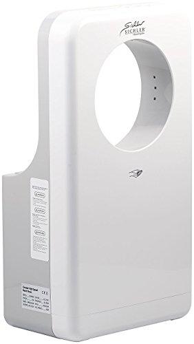 Sichler Haushaltsgeräte Händetrockner Gastro: Vollautomatischer Profi-Händetrockner mit LED-Beleuchtung, 1.450 Watt (Händeföhn)