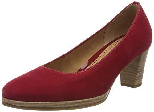 Gabor Shoes Gabor Fashion, Zapatos de Tacón Mujer, Rojo (Rubin 15), 39 EU