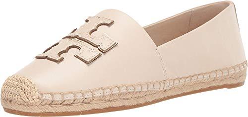 Tory Burch Women s INES Espadrilles New Cream Gold Flats Shoes (9.5 M US)
