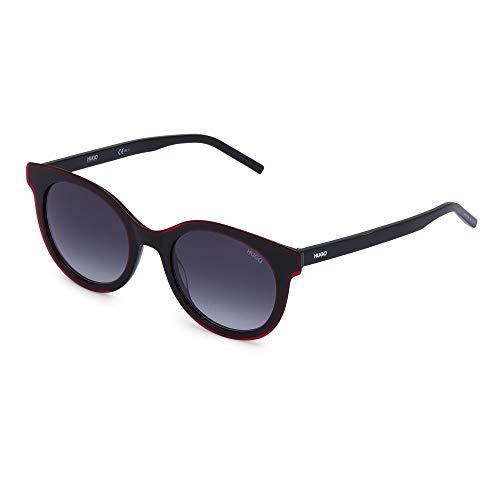 Hugo Boss HG 1050/S, gafas de sol Mujer, negro/rojo, 46