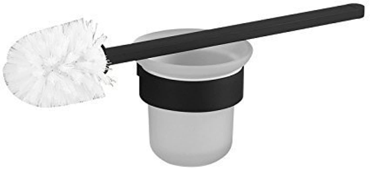 Small Brush WC WC Black Modern Simple Set of Bathroom Accessories The The Brush Bracket