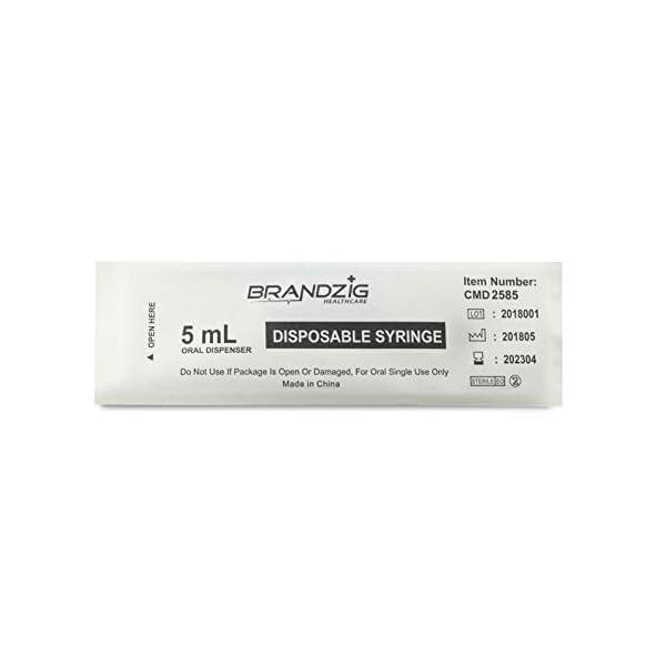 buy  5ml Oral Syringes – 100 Pack – Luer Slip ... Diabetes Care