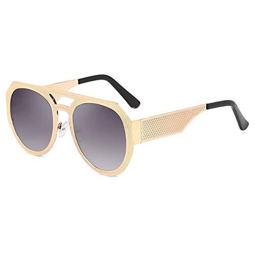 JiXuan Fashion Men Cool Square Style Gradient Sunglasses Driving Vintage Gafas de sol baratas