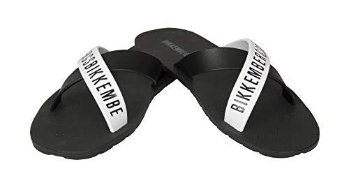 Bikkembergs Zapatillas de Hombre Cruzadas mar o Piscina bañador Zapatilla artículo VBKB04880 Olympic Animals