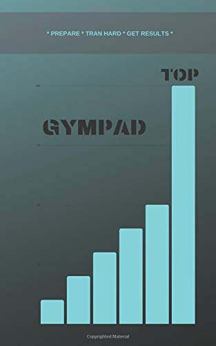 GYMPAD: Fitness Journal & Workout Tracker - Designed by Experts Gym Notebook, Workout Tracker, Exercise Log Book for Men Women