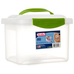 Sterilite Small Nesting Showoff Storage Container Clear View