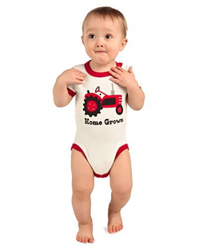 LazyOne Garçon Home Grown Body Bebe Vest 18 Months