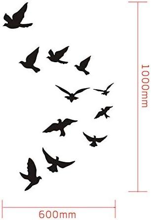 3d birds wall decor _image2