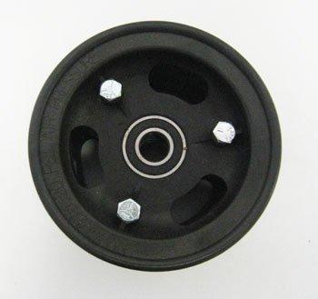 "Azusa 4"" AZUSALite Wheel, 3"" Wide with 5/8"" ID Precision Ball Bearings"