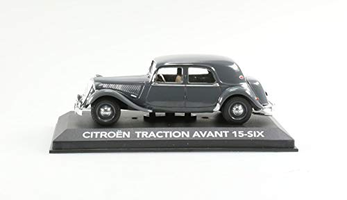RBA - Coche en miniatura Citroën Traction Avant 15-Six Auto de colección escala 1/43