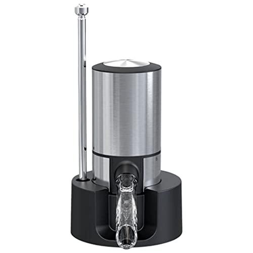 MERIGLARE Aeratore Elettrico del Vino, Pompa dell'erogatore del Vino, versatore Automatico del Vino, Decanter Portatile istantaneo per Vino, ossidante per Vino
