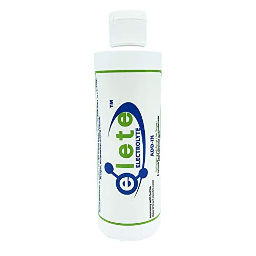 elete Electrolytes | Hydration Drops | 240ml Refill Bottle | Makes 96 Litres | Zero Calories | Zero Sugar