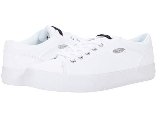 Lugz Women's Ally Classic Canvas Low Top Fashion Sneaker, White,7.5 M US