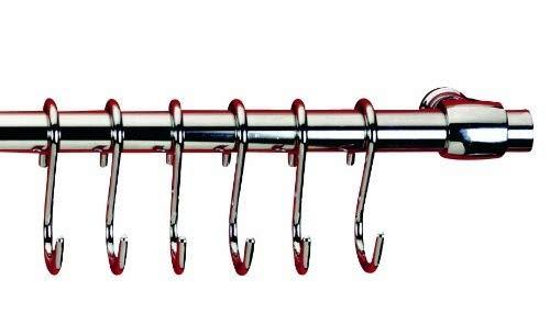 Metaltex Lonardo Relingleiste mit 6 Haken