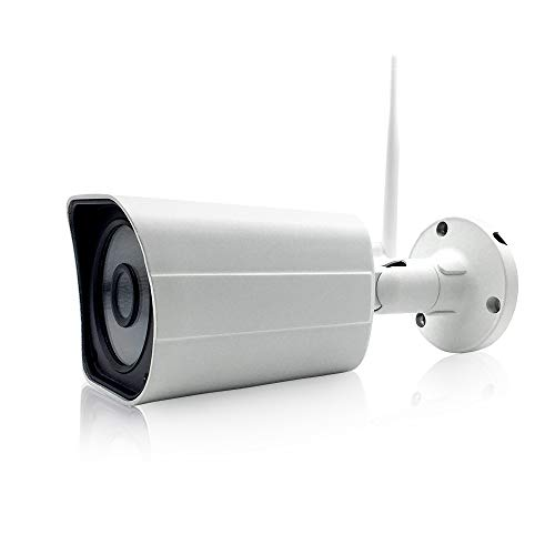 EXVIST 4K 8.0MP WiFi IR Weatherproof Compact Bullet Live Streaming IP Camera for Broadcasting to YouTube Facebook Twitch etc. by RTMP W/2.8mm Wide Angle Lens