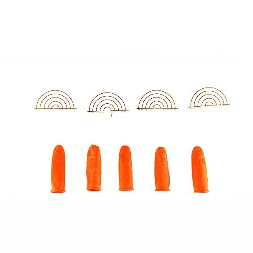 urembo or 5 x Protection et doigts 4 x Protection Patrons pour Bonding Extensions – La chaleur Kit de protection