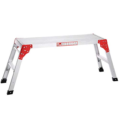 Fesjoy Plegable de Aluminio Plataforma de Trabajo Hop Up Ban