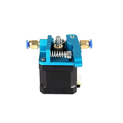 Printer Accessories for CR10 Extruder Near Remote Universal Wire Feeder Blue Sand Aluminum Upgrade MK8 1.75MM with Pneumatic Connect 3D Printer Parks Extruders Components