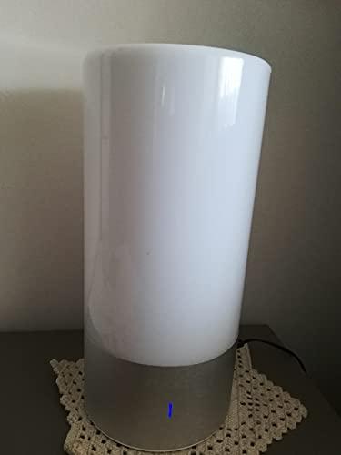 Aglaia Lampada da Comodino,Luce Notturna per Camera da Letto con 3 Livelli di Luminosità (6W Max), LED Luce Atmosfera con16 Milioni di Colore Controllo con Touch Dimmer 360° su Base in Alluminio.