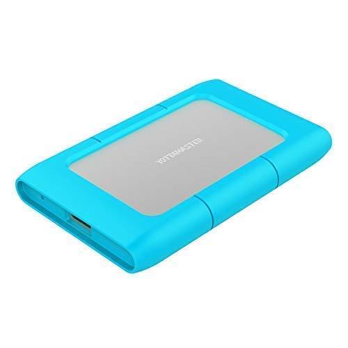 Yottamaster Alluminio USB3.0 a SATA III Custodia Rigida per 2.5 pollici SATA HDD/SSD con Custodia Protettiva in Silicone