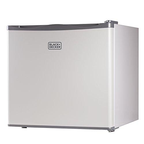 BLACK+DECKER BUFK12W Compact Upright Freezer Single Door, 1.2 Cubic Feet, White
