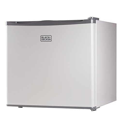 BLACK+DECKER BUFK12W Compact Upright Freezer Single Door, 1.2 Cubic Feet, White