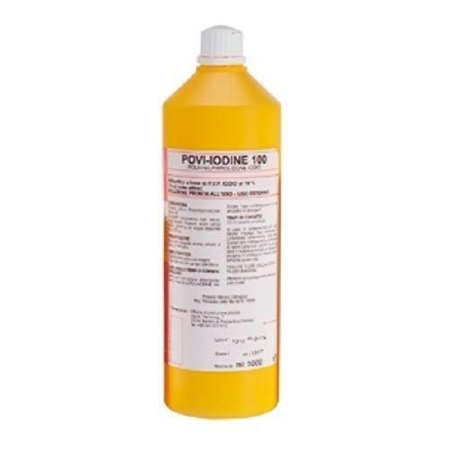 Disinfettante Antibaterico a base di iodio iodopovidone al 10 %, 1 litro, Presidio medico chirurgico