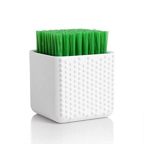 XuBa Green Dual-use Silicone Wasserij Ondergoed Borstel Zacht Haar Wassen Tool