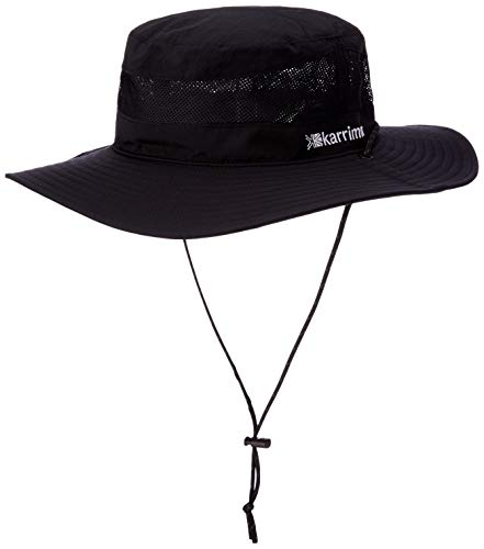 [カリマー] トレッキングハット cord mesh hat ST Black 日本 M (日本サイズM相当)