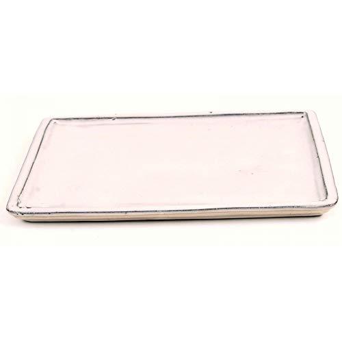 Bonsai 53300 Dessous de Verre carré Crème 31,5 x 24,5 cm