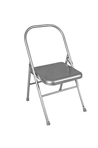 Yoga-Stuhl – mit Vorderstange, zusammenklappbar, metallisch Iyengar Yoga-Requisiten, leicht und robust