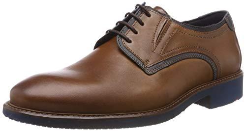 LLOYD herenschoen KEEDY, moderne halfschoen van leer in extra breed met rubberen zool