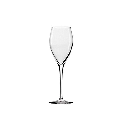 STÖLZLE LAUSITZ Champagnergläser Vinea 210 ml I 6 Stück I hochwertige Sektkelche 6er Set Kristallglas I Champagnerkelche spülmaschinenfest & bruchsicher I wie mundgeblasen