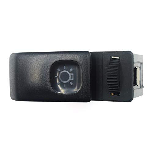Qivor Botón de Control del Interruptor de la luz Delantera para para para Volkswagen Golf Jetta Mk2 1985 1986 1987 1988 1989 1990 1991 1992 191941531k