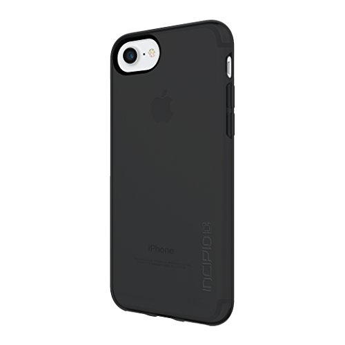 Incipio NGP Pure Case für Apple iPhone SE (2020) / 8 / 7 / 6S - transparent (schwarz) [Stoßfest I Reißfest I Flexibel I Transparent] - IPH-1480-BLK
