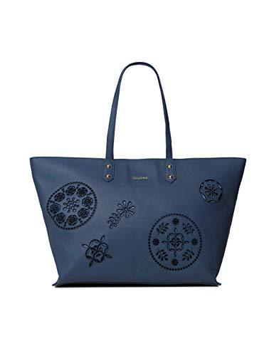 Desigual Damen Bols_Ines Cortland Henkeltasche Blau (Azul Espacial)
