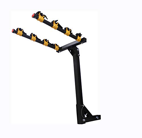 MAXXHAUL 50250 Hitch Mount 2-Arm Style 4 Bike Rack