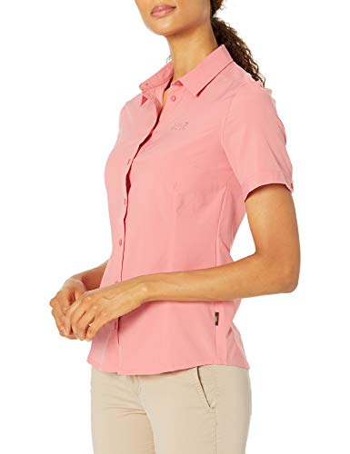 Jack Wolfskin Sonora Chemise Femme, Rose Quartz, FR (Taille Fabricant : XL)