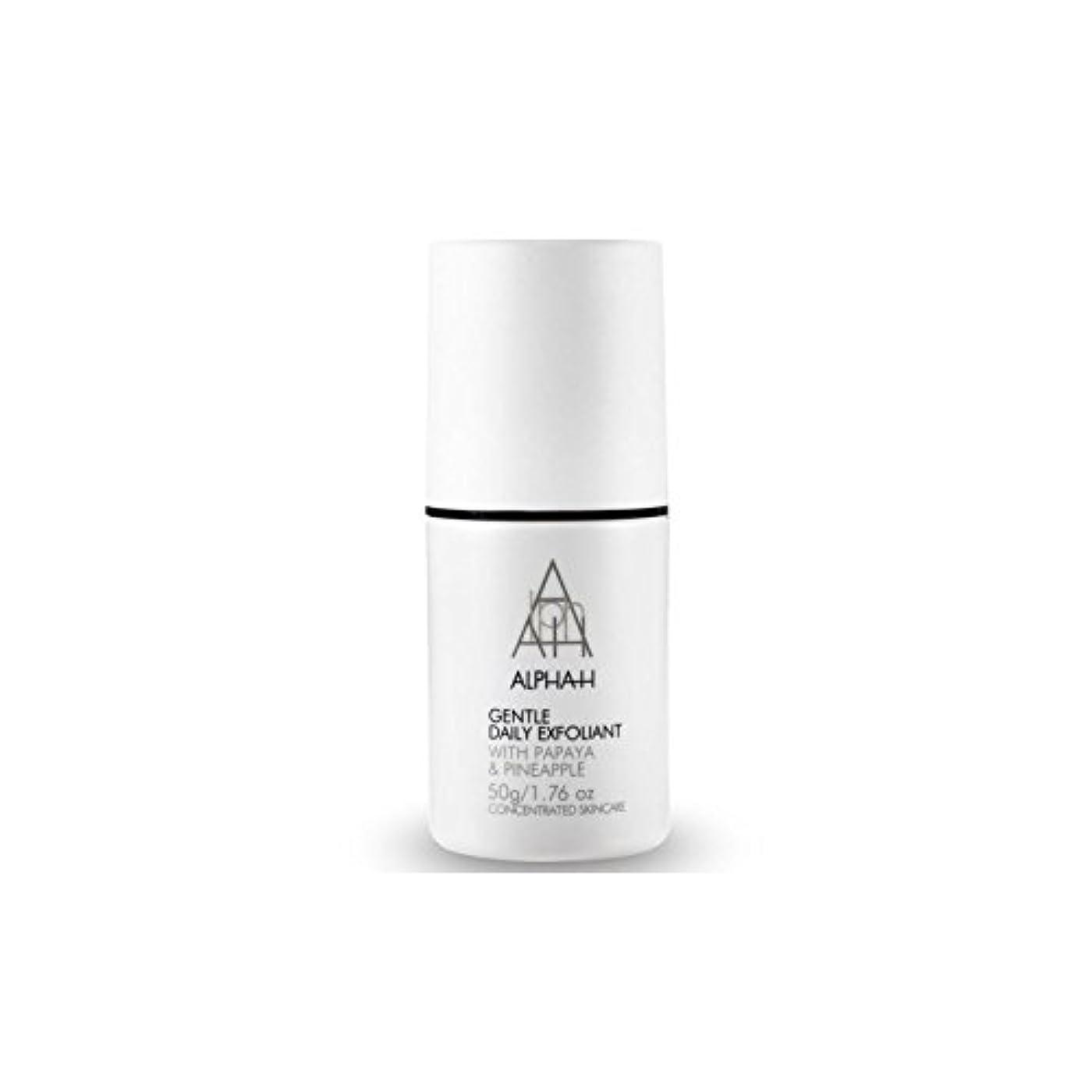 焼く逆敬の念Alpha-H Gentle Daily Exfoliant (50G) (Pack of 6) - アルファ - 時間穏やか毎日の角質(50グラム) x6 [並行輸入品]